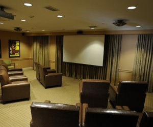 Somerby St. Vincent's One Nineteen Theater room